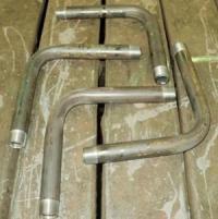 Отводы из стальных оцинкованных труб