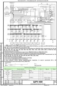 ШРУ-400 с трансформаторным счетчиком