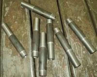 Сгон из стальных неоцинкованных труб без муфты и контргайки