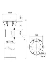 Закладная деталь ФМ 0,219-2,5