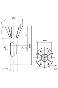 Закладная деталь ФМ 0,133-1,5